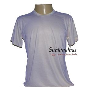 12 Camisas Sublimação Branca E Cores Claras 100% Poliéster
