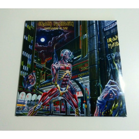 Lp Iron Maiden Somewhere In Time 180g Made In England Factor