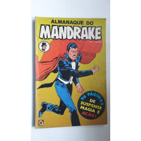 Hq Rara Almanaque Do Mandrake No.1 Rge- Frete Grátis