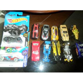 Lote Com 12 Carrinhos Hot Wheels Diversos Batman Fórmula 1