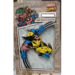 Imã Decorativo Em Mdf - Wolverine - Marvel Comics - Oficial