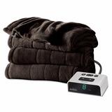 Cobija Electrica Sunbeam Microplush Heated Blanket, Full