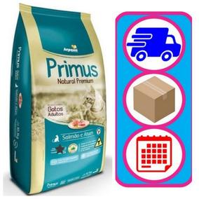 Ração Primus Gato Salmão E Atum