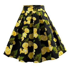 Falda Negra Con Flores Rosa Para Baile - Faldas al mejor precio en ... 8cde820fbd3c