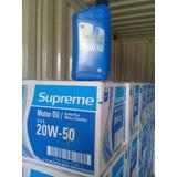 Aceite Mineral Importado Chevron 20w-50 Por Caja De 12 Unid