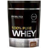 100% Pure Whey Protein 825g Refil - Probiótica - Promoção!