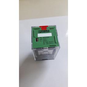 Relé 3 Contatos Reversíveis Rel-or-230ac/3x21 Phoenix Contct