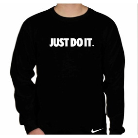 995f8a38f7 Camiseta Camisa Nike Just Do It 100% Algodão Manga Longa