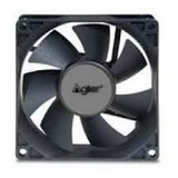 Abanico Para Pc 80mm Cooling Fan Negro