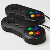 Promocion 2x 29 Soles Mando Super Nintendo Negro Usb Para Pc