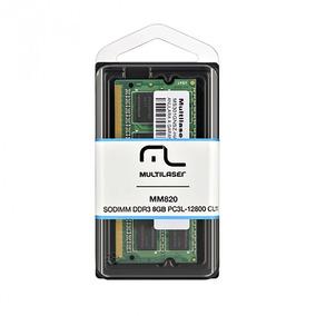 Memória De Notebook Multilaser Sodimm Ddr3 8gb Mm820