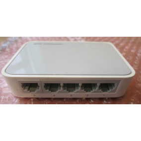 Switch Hub Sobremesa Con 5 Puertos A 10/100 Mbps Tl-sf1005d