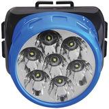 Lanterna Cabeça Bateria Interna Recarregável - Camping Pesca