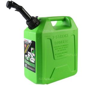 Galão De Combustível Super Resistente Verde 5 Litros