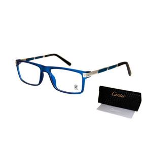 Armação Cartier Masculino Óculos Para Grau Premium Luxo 3dea23342c