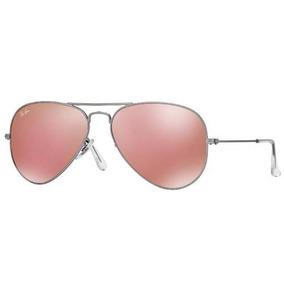 e048776342 Oculos Cor De Rosa Sol Ray Ban - Óculos no Mercado Livre Brasil