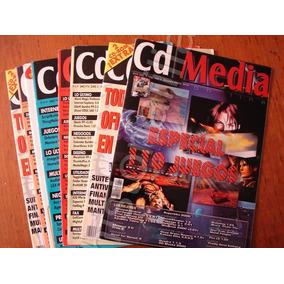 Retro Revista De Computacion Informatica Cd Media Lote De 7 ec3cf8e81d3