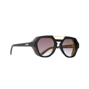 Evoke Avalanche - Óculos De Sol Wd01 Black Matte Gun Radical 5683310072