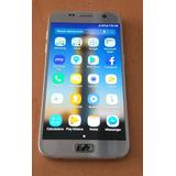 Celular Samsung Galaxy S7 Flat Plata 32gb Original Telcel