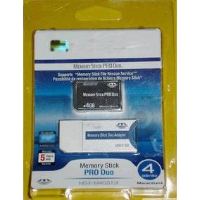 Memory Sony Stick Pro Duo 4gb