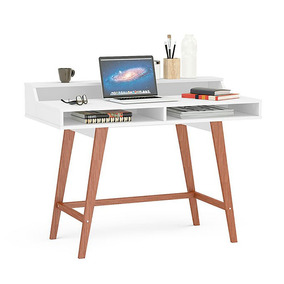 Mesa De Pc Makenna 170036 Hannover Blanco