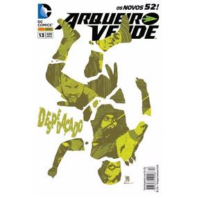 Hq - Arqueiro Verde - Os Novos 52! - Despedaçado #13