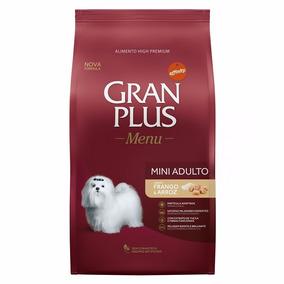 Raçao Gran Plus Adultos Raças Peq Mini Frango Arroz 15 Kg