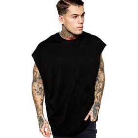 Camisa Tshirt Blusa Oversized Sleeveless Moda 2017 Tyga Swag. 3 cores. R  49  90 aa04c3b12de