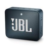 Bocina Bluetooth Jbl Go 2 Navy Metal A Prueba De Agua