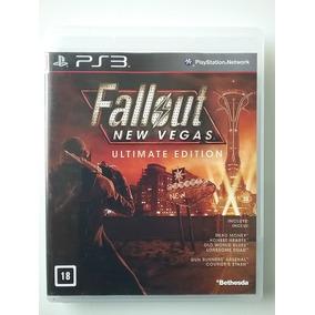 Fallout New Vegas Ultimate Edition Ps3 Física Espanhol Ótimo