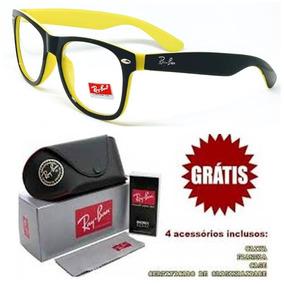 d5abbc57407e4 Armação Para Grau Amarela Da Acetato Armacoes - Óculos no Mercado ...