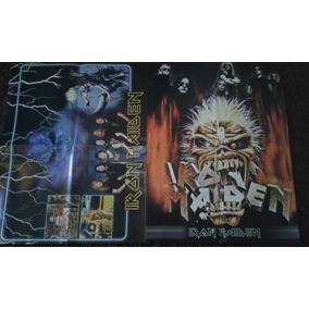 Poster Do Iron Maiden Com As Letras Das Musicas Rock Iron