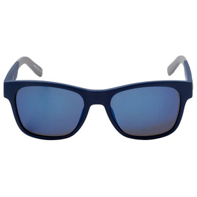 Lacoste L 829 S - Óculos De Sol 414 Azul E Cinza Fosco  Azul 5f658bec53