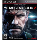 Metal Gear Solid V: Ground Zeroes Subs Español Ps3 Digital