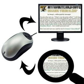 Visee Electronic Digital Vídeo Lupa P/ Tv Defeciente Visual