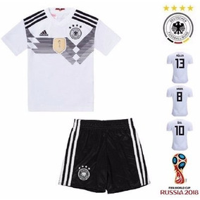 28e37ee94d Conjunto Da Alemanha Branco - Camisetas e Blusas no Mercado Livre Brasil