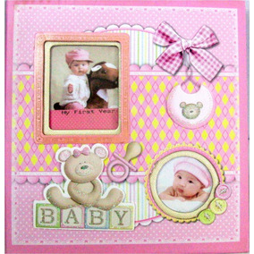 Álbum De Fotos Para Bebe Babyshower, Regalo, Recuerdos.