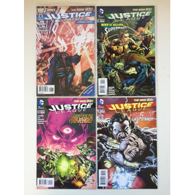 40 Comics Lote Dc Justice League Forever Evil New 52 Barbada