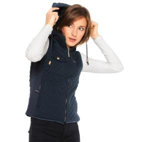 89739b6940995 Colete Polo Wear Matelassê Bolso E Capuz Removível Original