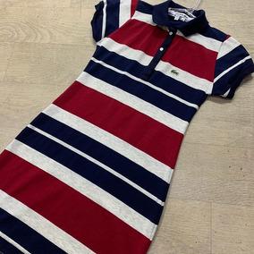 Vestido Lacoste Lançamento Verão Promoção Original Ft Real!! R  125 99 da1d1adbcc