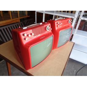 Televisor Retro Vintage Noble 14 Pulgadas Excelentes C/u