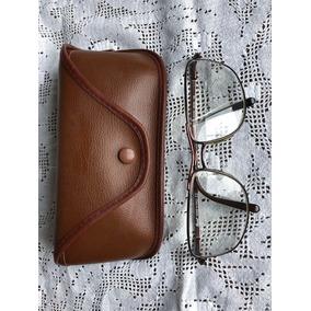 a9fb21ca213b1 Armação De Óculos De Grau Persol (italiano) Metal Semi Nova