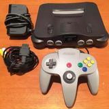 Nintendo 64 Con Un Control, Cables Y 2 Juegos