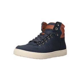 98a507b2991 Tenis Tommy Hilfiger Sneaker Boot Talla 28 Mx Azul Marino