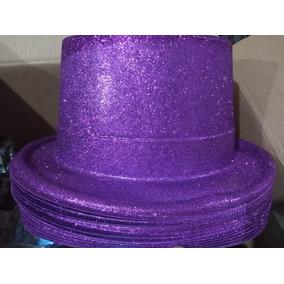 6ad44c835e928 6 Sombrero Copa Mago Diamantina Chistera Glitter