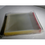 Sobres Plásticos Tamaño Caja Cd Con Solapa Adhesiva X200u