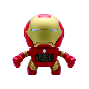 Reloj Niño Despertador Iron Man Digital Outlet Watch It!