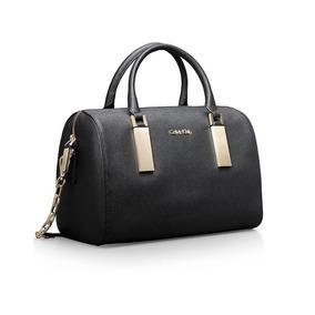 b4d509fa23a6a Bolsa Calvin Klein Scarlett Em Couro 100% Original 40%off