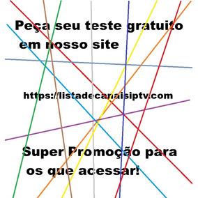 Lista Premium Pré-paga Completa - Tv Digital - 30 Dias