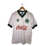 Camisa Palmeiras Retro Anos 80 Coca Cola Quaker Agip + Nro ... 597b96e093356
